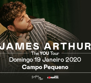 JAMES ARTHUR |  THE YOU TOUR