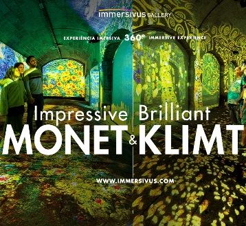 IMPRESSIVE MONET & BRILLIANT KLIMT