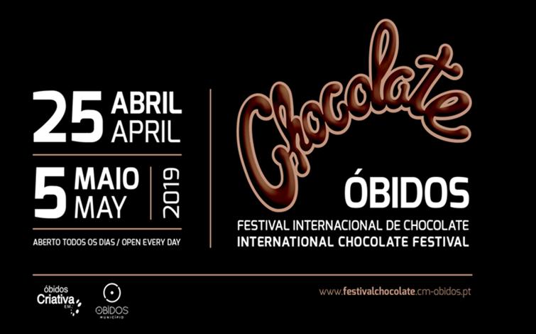 Resultado de imagem para festival internacional do chocolate óbidos 2019