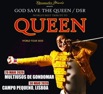 GOD SAVE THE QUEEN | DSR WORLD TOUR 2020*