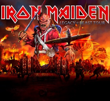 IRON MAIDEN LEGACY OF THE BEAST TOUR*